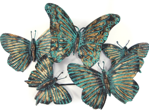 White Butterfly Wall Decor Target : Reg target home metal pattina butterfly wall art in