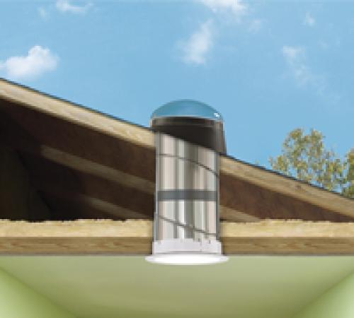 Solar Tube And Sun Tunnel Skylights Rigid Tubes TMR/TGR