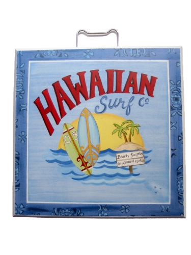 Target Home Set Of 2 Surfing Fun Plaques Maui Surf Hawaiian Surf By Elizabeth Brighton In