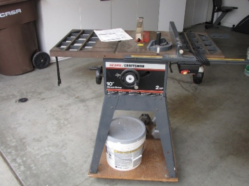Craftsman 10 2hp Direct Drive Table Saw In Laguna Hills Ca 92653