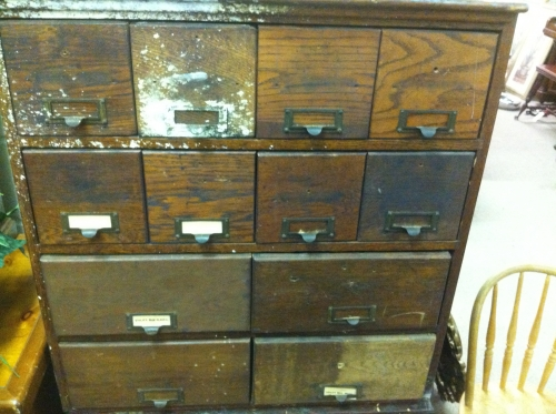 Antique Library Card Catalog Cases In Waldorf Md