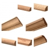 Poplar Crown Mouldings, Bases, Custom Wood Moldings, Trim Profiles, Primed Mouldings