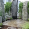 Granite Outdoor Shower and Water Features