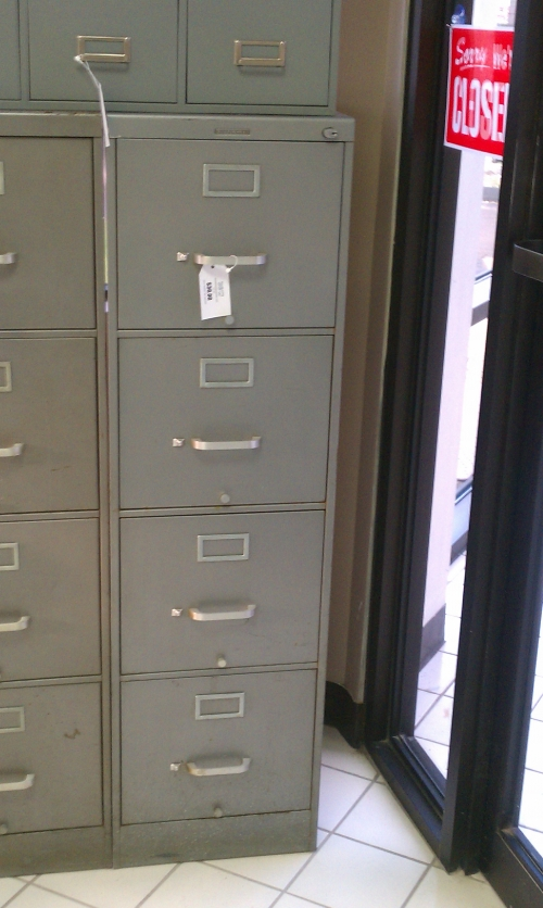 Funky Filing Cabinets