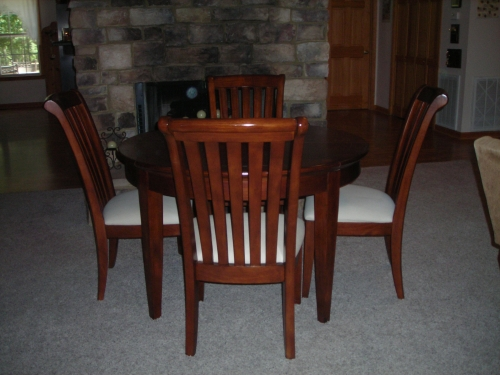 BEAUTIFUL MAHOGANY DINING ROOM TABLE amp CHAIRS in Auburn  : 1full from www.diggerslist.com size 500 x 375 jpeg 143kB