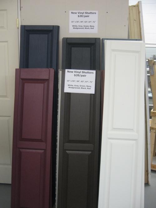 vinyl shutters in norristown pa