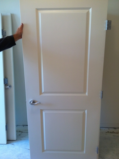 4 Nice 2 Panel Interior Hollow Core Doors With Hardware In San Diego Ca